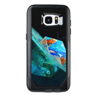 Funda OtterBox Para Samsung Galaxy S7 Edge Koi cubicado flotante Otterbox Samsung 7