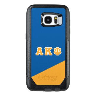 Funda OtterBox Para Samsung Galaxy S7 Edge Letras alfa del Griego de Kappa PSI el |