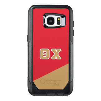 Funda OtterBox Para Samsung Galaxy S7 Edge Letras del Griego de la ji el | de la theta