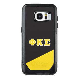 Funda OtterBox Para Samsung Galaxy S7 Edge Letras del Griego de la sigma el   de Kappa de la