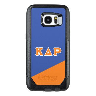 Funda OtterBox Para Samsung Galaxy S7 Edge Letras del Griego de rho el | del delta de Kappa