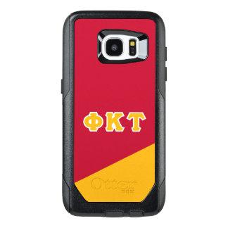 Funda OtterBox Para Samsung Galaxy S7 Edge Letras del Griego del Tau el | de Kappa de la phi