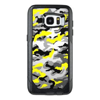 Funda OtterBox Para Samsung Galaxy S7 Edge Los militares negros amarillos del ejército de