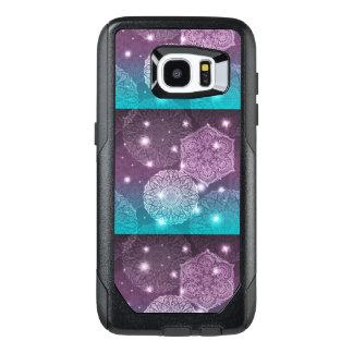 Funda OtterBox Para Samsung Galaxy S7 Edge Modelo de lujo floral de la mandala