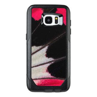 Funda OtterBox Para Samsung Galaxy S7 Edge Modelo del ala del detalle de la mariposa tropical