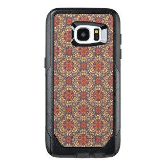 Funda OtterBox Para Samsung Galaxy S7 Edge Modelo floral étnico abstracto colorido de la