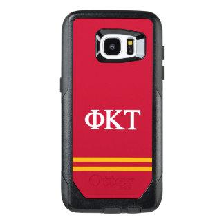 Funda OtterBox Para Samsung Galaxy S7 Edge Raya del deporte del Tau el   de Kappa de la phi