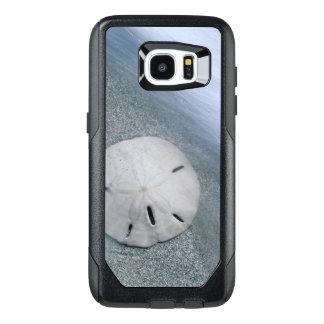 Funda OtterBox Para Samsung Galaxy S7 Edge Sanddollar en la isla de la playa el   Sanibel, la