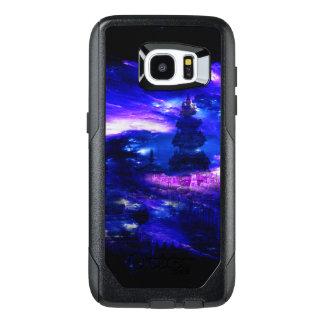 Funda OtterBox Para Samsung Galaxy S7 Edge Sueños Amethyst de Bali del zafiro