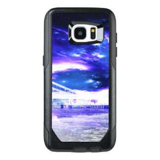 Funda OtterBox Para Samsung Galaxy S7 Edge Sueños Amethyst de Budapest del zafiro