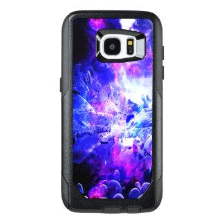 Funda OtterBox Para Samsung Galaxy S7 Edge Sueños Amethyst de la noche de Yule