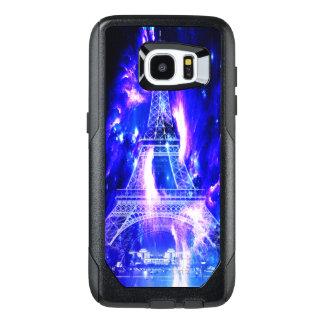 Funda OtterBox Para Samsung Galaxy S7 Edge Sueños Amethyst de París del zafiro