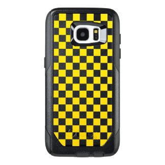 Funda OtterBox Para Samsung Galaxy S7 Edge Tablero de damas amarillo