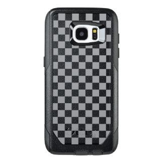 Funda OtterBox Para Samsung Galaxy S7 Edge Tablero de damas gris