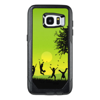 Funda OtterBox Para Samsung Galaxy S7 Edge Viajero de encargo del borde de la galaxia S7 de