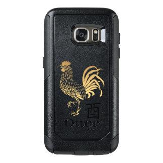 Funda Otterbox Para Samsung Galaxy S7 El Año Nuevo del gallo de oro Otterbox 2017
