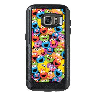 Funda Otterbox Para Samsung Galaxy S7 El carácter del Sesame Street hace frente al