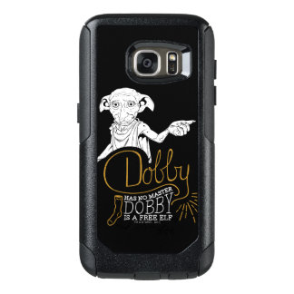 Funda Otterbox Para Samsung Galaxy S7 El Dobby de Harry Potter el | no tiene ningún amo