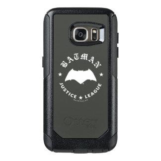 Funda Otterbox Para Samsung Galaxy S7 Emblema retro del palo de la liga de justicia el  
