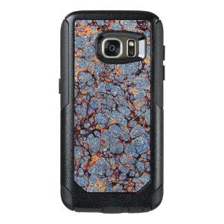 Funda Otterbox Para Samsung Galaxy S7 Endpaper veteado azul