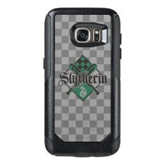 Funda Otterbox Para Samsung Galaxy S7 Escudo de Harry Potter el | Slytherin QUIDDITCH™