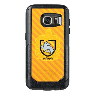 Funda Otterbox Para Samsung Galaxy S7 Escudo de Hufflepuff del dibujo animado