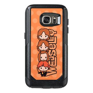 Funda Otterbox Para Samsung Galaxy S7 Gráfico de Weasley Siblilings del dibujo animado
