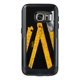 Funda Otterbox Para Samsung Galaxy S7 La marca del tráfico por carretera del pavimento