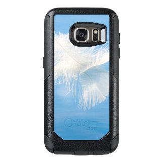 Funda Otterbox Para Samsung Galaxy S7 La pluma blanca refleja en el agua el | Seabeck,