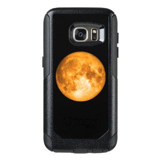 Funda Otterbox Para Samsung Galaxy S7 Luna Llena anaranjada