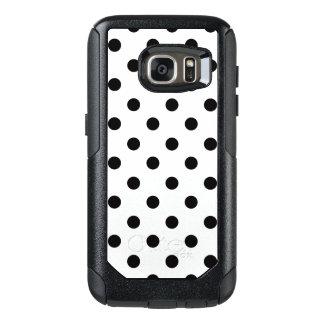 Funda Otterbox Para Samsung Galaxy S7 Lunar blanco y negro