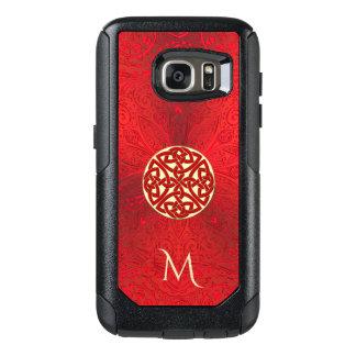 Funda Otterbox Para Samsung Galaxy S7 Mandala céltica roja Otterbox del nudo