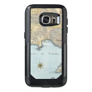 Funda Otterbox Para Samsung Galaxy S7 Mapa del golfo de Nápoles y de los alrededores
