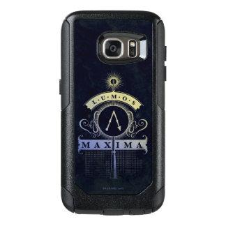Funda Otterbox Para Samsung Galaxy S7 Máximos del encanto el | Lumos de Harry Potter