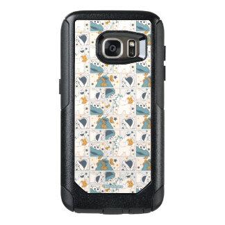 Funda Otterbox Para Samsung Galaxy S7 Modelo cómico del monstruo el | OM Nom Nom de la