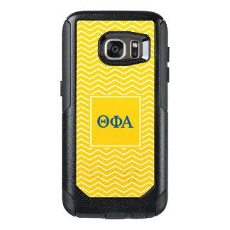 Funda Otterbox Para Samsung Galaxy S7 Modelo de la alfa el   Chevron de la phi de la