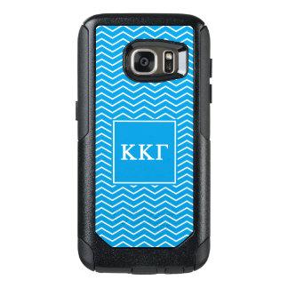 Funda Otterbox Para Samsung Galaxy S7 Modelo de la gamma el   Chevron de Kappa Kappa
