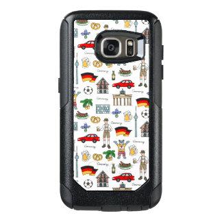Funda Otterbox Para Samsung Galaxy S7 Modelo de los símbolos de Alemania el |