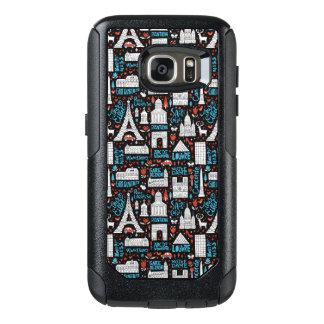 Funda Otterbox Para Samsung Galaxy S7 Modelo de los símbolos de Francia el  