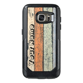 Funda Otterbox Para Samsung Galaxy S7 Modelo de madera gastado