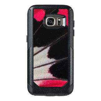 Funda Otterbox Para Samsung Galaxy S7 Modelo del ala del detalle de la mariposa tropical