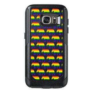 Funda Otterbox Para Samsung Galaxy S7 Modelo del elefante del arco iris