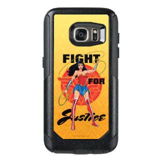 Funda Otterbox Para Samsung Galaxy S7 Mujer Maravilla con el lazo - lucha para la