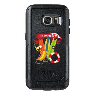 Funda Otterbox Para Samsung Galaxy S7 Playa Watersports del verano