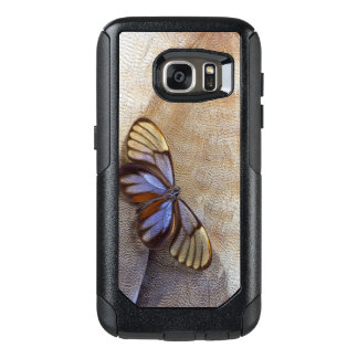 Funda Otterbox Para Samsung Galaxy S7 pluma egipcia del ganso de la mariposa del
