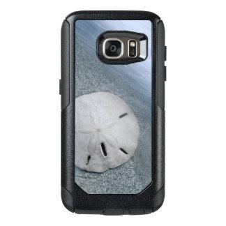 Funda Otterbox Para Samsung Galaxy S7 Sanddollar en la isla de la playa el   Sanibel, la