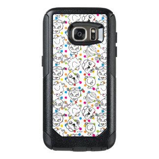 Funda Otterbox Para Samsung Galaxy S7 Sr. Men y pequeño modelo de lunares del arco iris