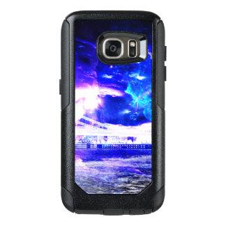 Funda Otterbox Para Samsung Galaxy S7 Sueños Amethyst de Budapest del zafiro de Amorem