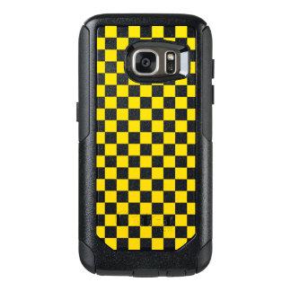 Funda Otterbox Para Samsung Galaxy S7 Tablero de damas amarillo