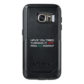 Funda Otterbox Para Samsung Galaxy S7 ¿Usted ha intentado girarlo apagado y otra vez?